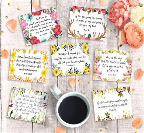 printable bible verse tags bible verse cards printable 3 quot x2 5 instant download 9