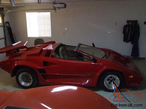 Lamborghini Countach Replica For Sale Uk Lamborghini Countach Spider Concept Replica