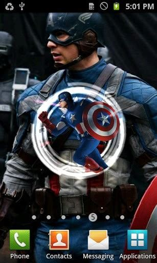 captain america live wallpaper captain america live wallpaper app for android by