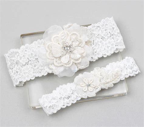 Wedding Garter Sets by Lace Garter Set Wedding Garter Set Bridal Garter Set