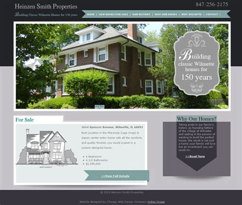 stunning home builder website design images interior