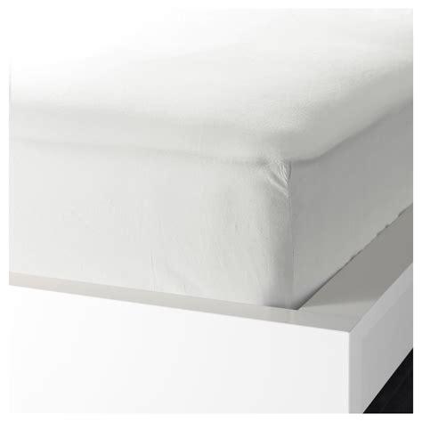 matratze 90x200 ikea knoppa fitted sheet white 90x200 cm ikea