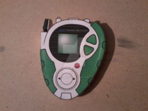 Digivice Papercraft - t k s d 3 digivice papercraft by supervegeta71290 on
