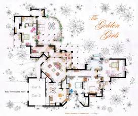 ordinary Carrie Bradshaw Apartment Address #9: The-Golden-Girls-Blanche-Du-Bois-House-Floor-Plans.jpeg
