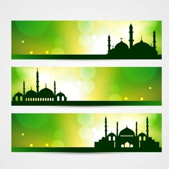 design banner islamic mosque vectors photos and psd files free download