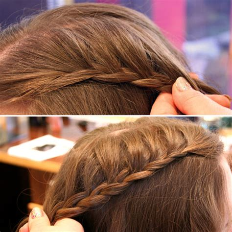 images of step by step hairbraid on popdugar 4 steps to creating a cascade braid popsugar beauty