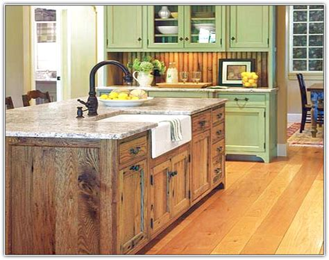 building kitchen island build a kitchen island from stock cabinets home design ideas