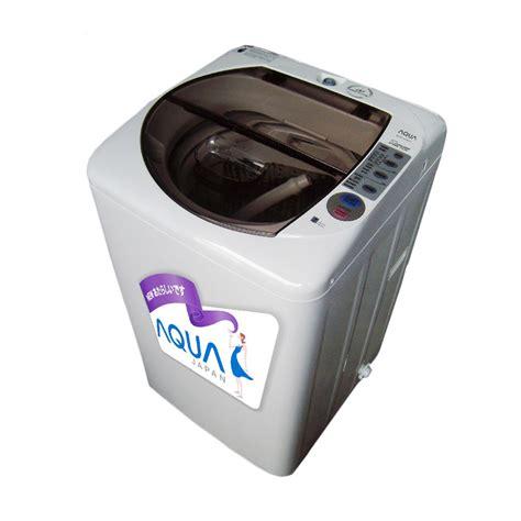 Mesin Cuci 2 Tabung Hemat Listrik jual aqua aqw a76ht mesin cuci 1 tabung harga
