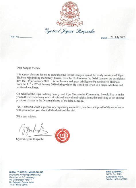 Invitation Letter Hotel hotel opening invitation letter busara newsletter january 2012 invitation librarry