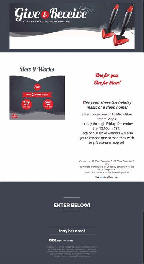 Giveaway Exles - 24 amazing facebook giveaway exles