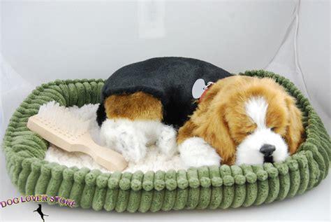 lifelike puppy beagle like stuffed animal breathing petzzz ebay