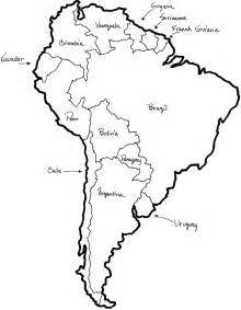 outline map of south america chapter craft patterns tslac