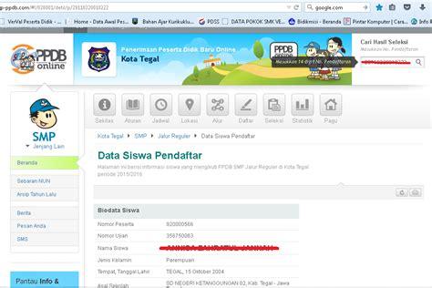 buat npwp online bisa ga cara cek seleksi pendaftaran smp smk secara online