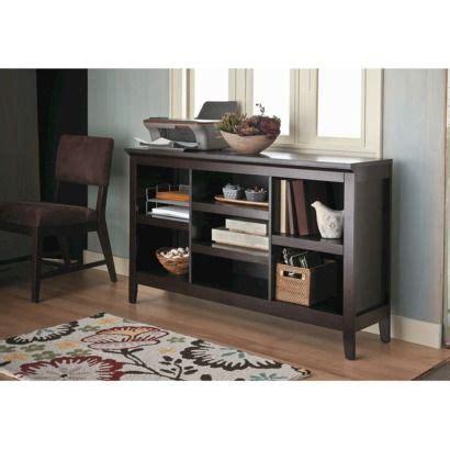 threshold carson horizontal bookcase with adjustable