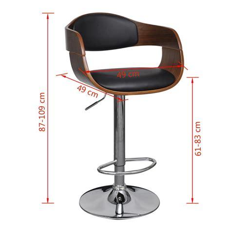 altezza sedie sedia pelle artificiale altezza regolabile schienale