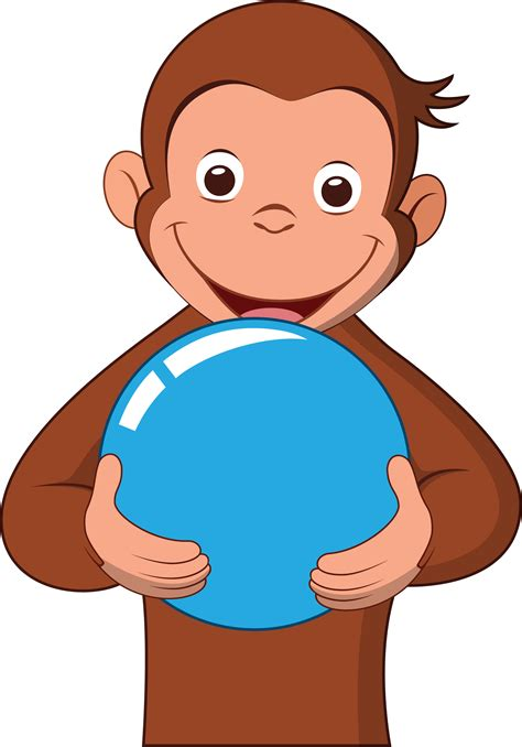 imagenes png jorge el curioso curious george with a blue ball by bang a rang on deviantart