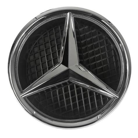 Emblem Kap Original Mercedes W212 sale white led light illuminated emblem front grille