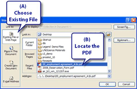 tutorial hyperlink powerpoint 2007 pdf adding a thumbnail of a pdf page to a powerpoint presentation