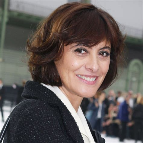 current hairstyles in france ines de la fressange becomes l oreal spokesperson