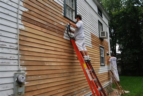 sandblasting is it a reliable method to do away with - Remove Exterior Paint