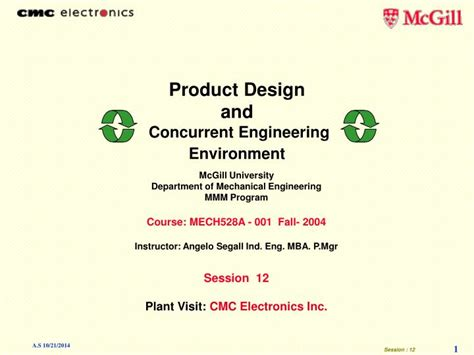 design for manufacturing and concurrent engineering ppt product design and concurrent engineering