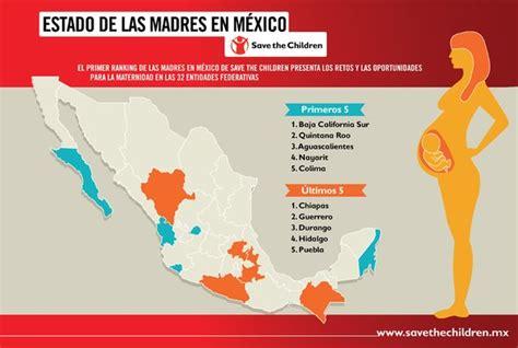 refrends 2016 estado de mxico los mejores y peores estados de m 233 xico para ser mam 225 v 237 a