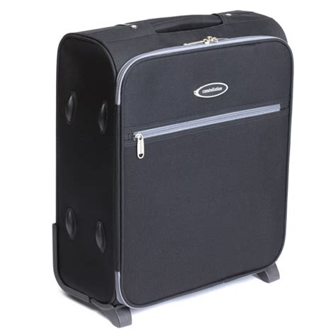 Cabin Baggage by Constellation Cabin Baggage 18 Quot Black W Grey Trim