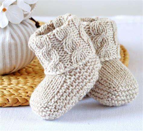 knitting pattern en español las 25 mejores ideas sobre zapatos tejidos para bebe en