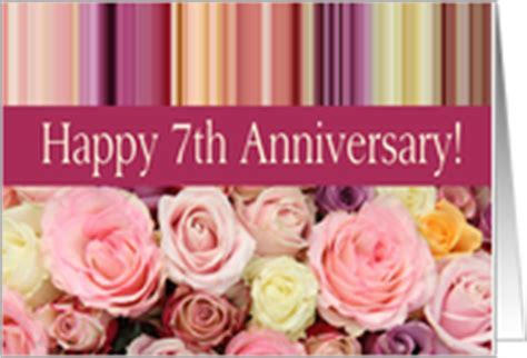 7th Wedding Anniversary Cards from Greeting Card Universe