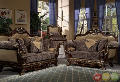 Victorian Inspired Formal Living Room Sets Traditional Style Living Room Furniture