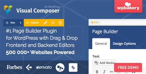 page builder for wordpress 100 free plugin livecomposer best free drag and drop page builder wordpress plugins