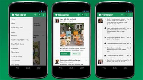 Ext Door Nextdoor Social Media For Neighborhoods Now On Android