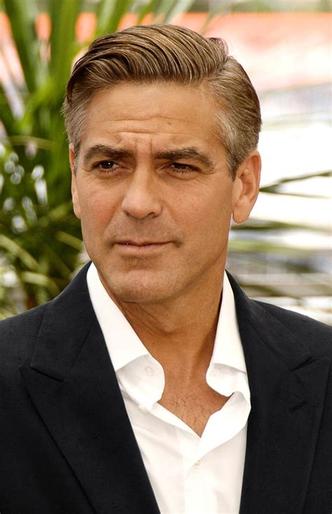 over 55 mens hair cut 17 best images about george clooney pics on pinterest