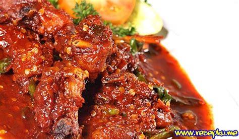 resep ayam rica rica manado super pedas masakan indonesia
