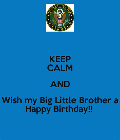 Happy Birthday Wishes To My Big Birthday Wishes For Younger Brother