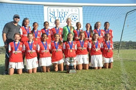 arsenal youth fc soccer rankings january girls u14 10 6 youth1
