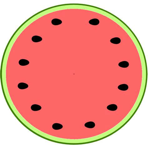 watermelon template watermelon slice clip cliparts co