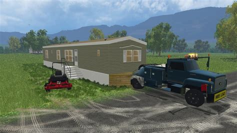 Home Ls by Farming Simulator 15 Lawn Care Construction Ep 4 Moving A
