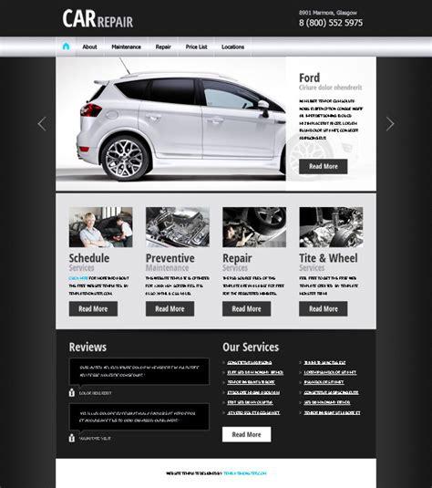20 Auto Parts Cars Html Website Templates Automotive Website Templates