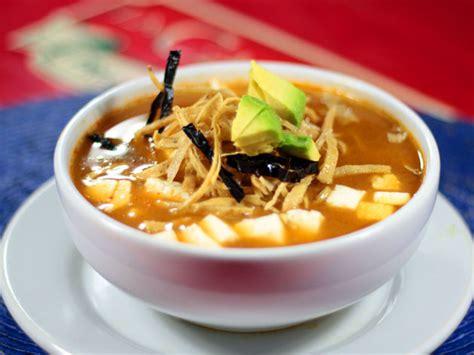 imagenes sopa azteca receta de la sopa de tortilla turimexico