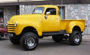 1949 chevy lifted 4x4 trucks