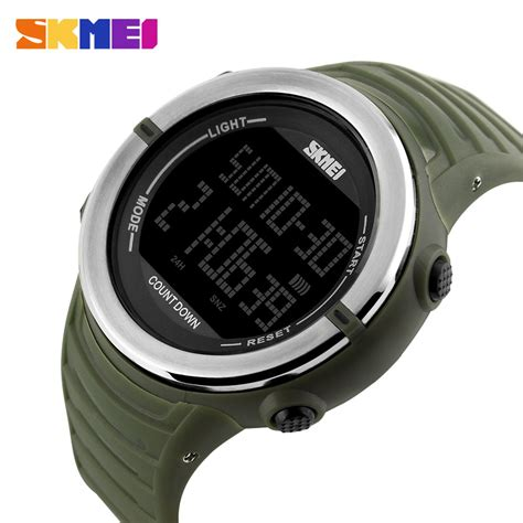 Jam Tangan Pria Ripcurl R1432 8 skmei jam tangan digital pria 1209 green jakartanotebook