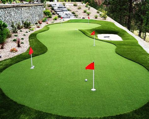 how to make a putting green in backyard 48 best images about golf putting greens on pinterest