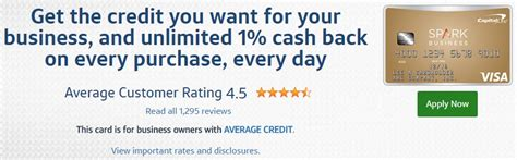 Capital One Spark Classic Business Card Review