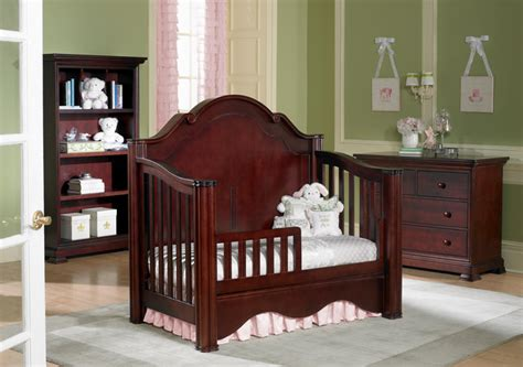Crib Into Bed by Enchanted Crib Converted Into Toddler Bed Traditional