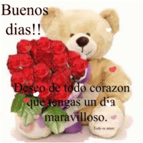 imagenes de buenos dias amor con flores im 225 genes de osos con frases buenos d 237 as imagenes de amor