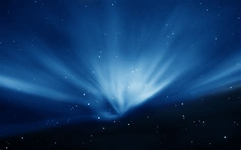 apple wallpaper with stars apple sky blue aurora wallpapers hd wallpapers id 7108