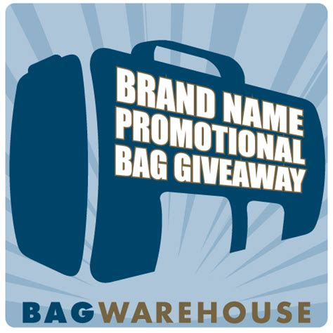 Brand Name Giveaways - bag warehouse gears up for 2012 conference and meeting industry rebound with increased