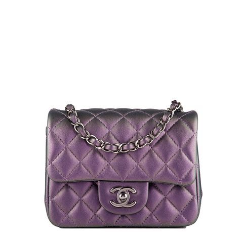 Karpet Mobil 5 In 1 Fashion Chanel chanel iridescent purple quilted lambskin square mini classic flap bag world s best