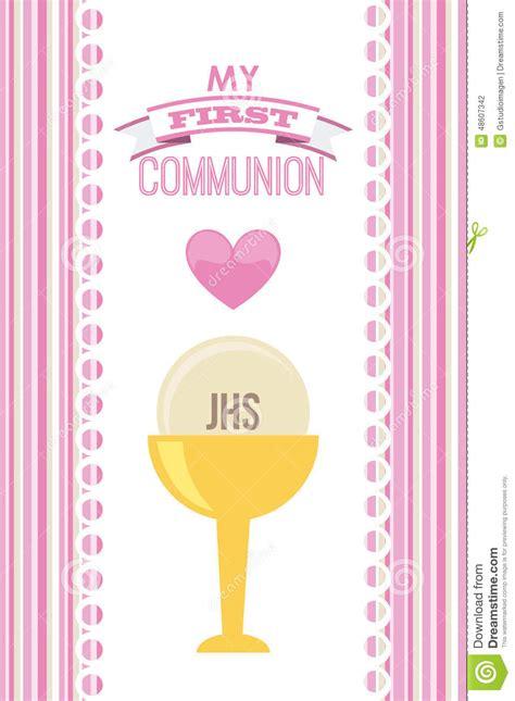 clipart prima comunione la prima comunione illustrazione di stock